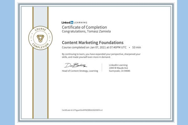 Content Marketing Foundations